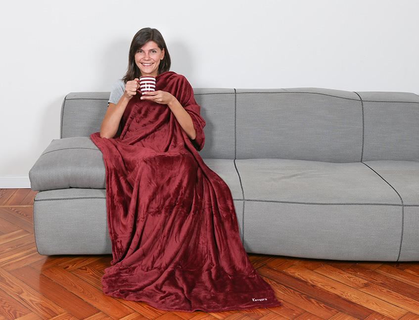 Kanguru idee regalo per il relax - Gatto divano microfibra ...